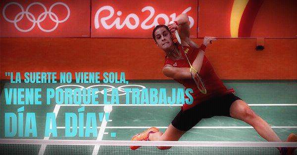 Carolina Marín jugadora de bádminton onubense