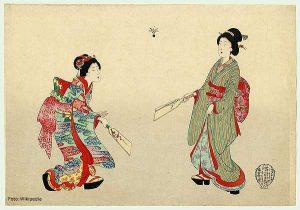 Hanetsuki, uno de los orígenes del deporte del bádminton