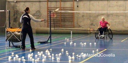 marcela quinetros jugadora española de parabádminton