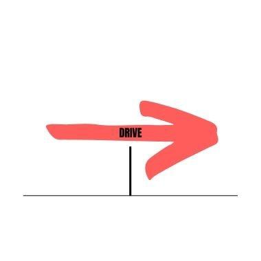 explicación del drive como golpe defensivo del juego del bádminton en power bádminton