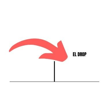explicación del drop golpe defensivo de bádminton y su trayectoria en power bádminton