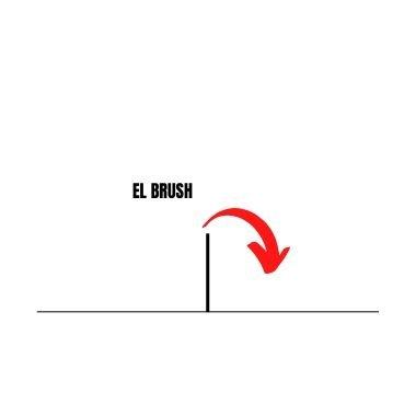 el brush y su trayectoria en el bádminton explicados en power bádminton