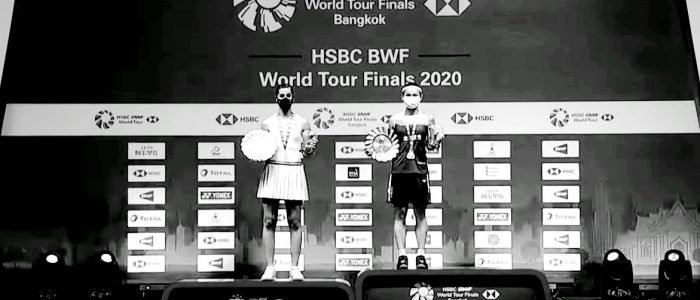 Podium del HSBC World Tour Finals 2020