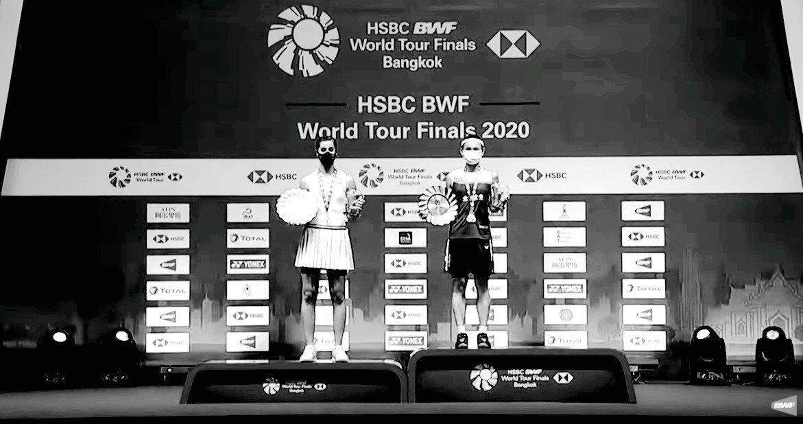 Podium del HSBC World Tour Finals 2020
